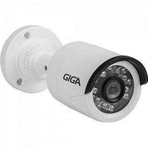 Camera Bullet 2,6mm Infra 20m 720P Open HD (4 em 1) GS0014 Branco GIGA