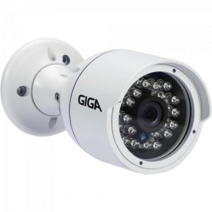 Camera Bullet 4mm Infra 30m 4MP - 2K Open ULTRA HD (4 em 1) GS0042 Branco GIGA