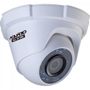 Camera Dome OPEN (4 em 1) 720P 2,8mm 20m CDF-2820-1P Case Plast AQUARIO