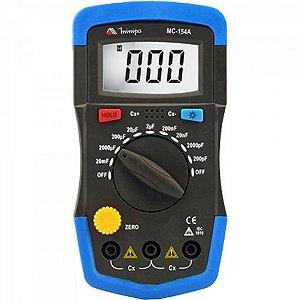 Capacímetro Digital MC154A Azul/Preto MINIPA