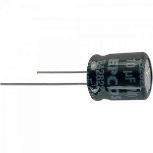 Condensador Eletrolítico 10/100V Radial Bipolar EPCOS