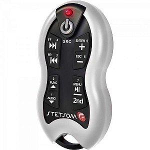 Controle Remoto para Som Automotivo SX2 Branco STETSOM