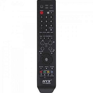 Controle Remoto para TV LCD SAMSUNG CTV-SMG02 Preto HYX