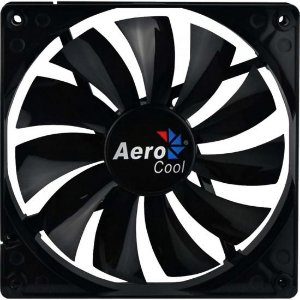 Cooler Fan 14cm DARK FORCE EN51349 Preto AEROCOOL