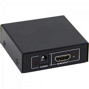 Divisor HDMI 1 Entrada x 2 Saídas CHSL0004 Preto STORM