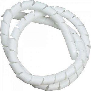 """Fita Espiral para Organizador de Cabos 1"""" 2 Mts Branco HELLERMANN"""