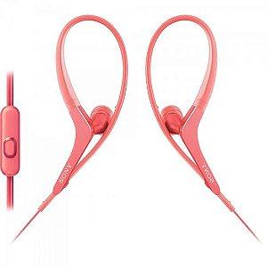Fone de Ouvido Intra-Auricular com Microfone MDR-AS410AP/P Rosa SONY