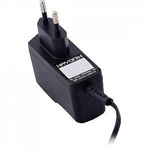 Fonte Chaveada 12VDC 0,5A P4 C+ 2,1mm FCTP125I HAYONIK