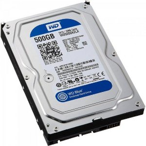 "HD Interno SATA 3,5"" 500GB SATA III 7200 RPM Blue WESTERN DIGITAL"