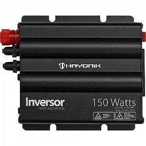 Inversor 150W 12VDC/127V Onda Modificada Cinza Escuro HAYONIK