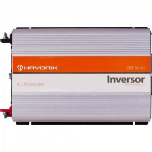 Inversor de Onda Modificada 12VDC/220V USB 3000W HAYONIK