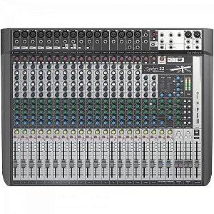 Mesa de Som Mixer SOUNDCRAFT 22 SIGNATURE