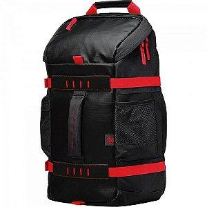 "Mochila Notebook 15,6"" X0R83AAAB L Preto/Vermelho HP"