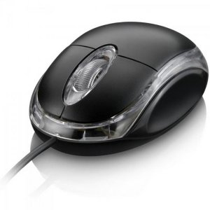 Mouse Scroll USB 800DPI MO007 CLASSIC Preto MULTILASER
