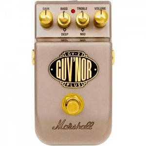 Pedal Para Guitarra GV-2 Guv'nor Plus Overdrive MARSHALL