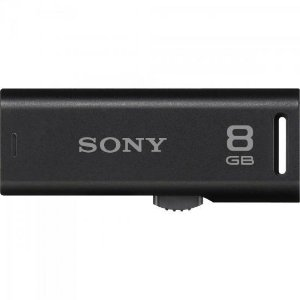 Pen Drive 8GB Flash USB USM8GR/BM Preto SONY