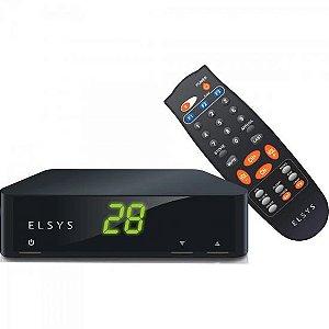 Receptor de TV Analógico PETIT ETRS39 Preto ELSYS