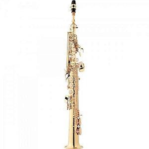 Saxofone Soprano Bb SP502 Laqueado EAGLE