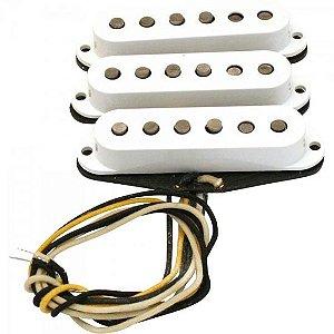 Set de Captadores Para Guitarra TEXAS SPECIAL STRAT Branco FENDER