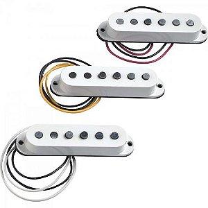 Set de Captadores para Guitarra TEX-MEX STRATOCASTER Branco FENDER