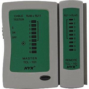 Testador de Cabos Lan TCL-101 HYX