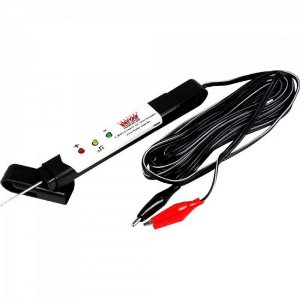 Testador de Tensão Eletrônica 12/24V ETE 4999 Preto RAINHA DAS SETE