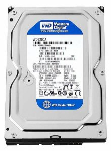 HD 320GB SATA 3 6GB/S WD3200AVJS 7200RPM CACHE 8MB WESTERN DIGITAL
