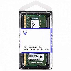 MEMORIA 4GB DDR4 2400 MHZ KVR24S17S6/4 4CP NOTEBOOK KINGSTON