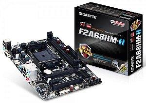 PLACA MAE FM2 MICRO ATX GA-F2A68HM-H DDR3 GIGABYTE  IMPORTADO