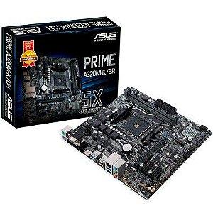 PLACA MAE AM4 MICRO ATX A320M-K/BR DDR4 PRIME ASUS