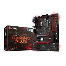 PLACA MAE 1151 ATX Z270 GAMING PLUS DDR4 MSI