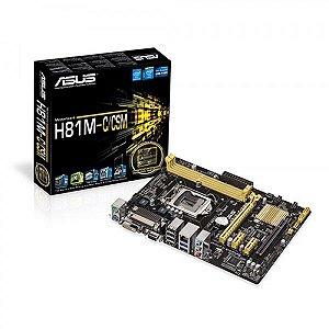 PLACA MAE 1150 MICRO ATX H81M-C/CSM DDR3 ASUS  IMPORTADO