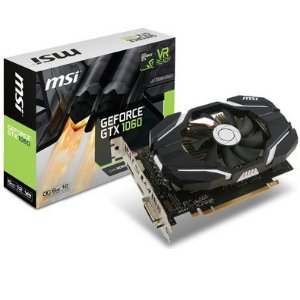 PLACA DE VIDEO 6GB PCIEXP GTX 1060 912-V328-274 192 BITS GDDR5 GEFORCE DVI/HDMI/DP MSI