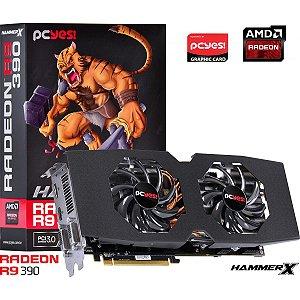 PLACA DE VIDEO 8 GB PCIEXP R9 390X V390XQM8GD 512BITS GDDR5 RADEON RADEON PCYES
