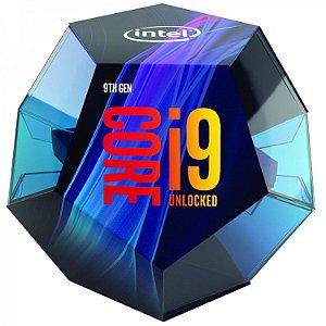 PROCESSADOR INTEL 9900K CORE I9 1151 3.60 GHZ BOX - BX80684I99900K - 9º GER