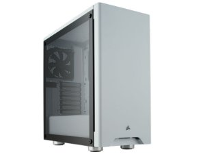GABINETE GAMER CORSAIR CC-9011133-WW CARBIDE 275R BRANCO LATERAL VIDRO TEMPERADO