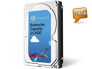 HDD 2,5 ENTERPRISE SERVIDOR 24X7 SEAGATE 1VE100-004 ST1000NX0423 1 TERA 7200PM 128MB CACHE SATA 6GB/S