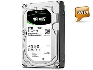 HDD 3,5 ENTERPRISE SERVIDOR 24X7 SEAGATE 1RM112-004 ST8000NM0055 8 TERAS 720RPM 256MB CACHE SATA 6GB/S