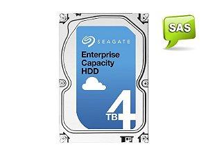 HDD 3,5 ENTERPRISE SERVIDOR 24X7 SEAGATE 1YZ207-004 ST4000NM0125 4 TERA 7200RPM 128MB CACHE SAS 12GB/S