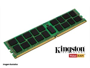 MEMORIA SERVIDOR HP KINGSTON KTH-PL424E/16G 16GB DDR4 2400MHZ CL17 ECC DIMM X8 1.2V