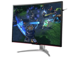 MONITOR GAMER ENTUSIASTA AOC AG322FCX/75 31.5 LED 1920X1080 WIDE VGA DVI HDMI DP