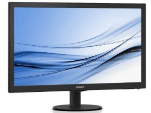 MONITOR LED 27 MULTIMIDIA PHILIPS 273V5LHAB 27 LED 1920X1080 WIDE VGA DVI HDMI VESA