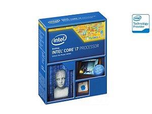 PROCESSADOR CORE I7 LGA 2011 INTEL BX80633I74960X I7-4960X 3.6GHZ 15M CACHE DMI 5GTS S/COOLER
