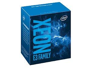 PROCESSADOR XEON E3 LGA 1151 INTEL BX80677E31230V6 QUAD CORE E3-1230V6 3.50GHZ 8MB 8GT/S DDR4|DDR3L