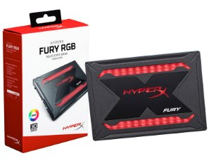 SSD GAMER HYPERX SHFR200/240G FURY 240GB 2.5 RGB SATA III