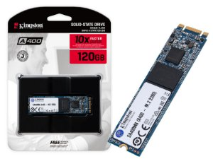 SSD M.2 DESKTOP NOTEBOOK KINGSTON SA400M8/120G A400 120GB M.2 FLASH NAND