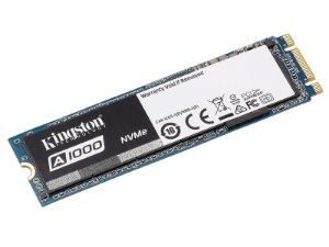SSD PCIe DESKTOP NOTEBOOK KINGSTON SA1000M8/480G A1000 480G M.2 2280 PCIE NVME GER 3.0 X2