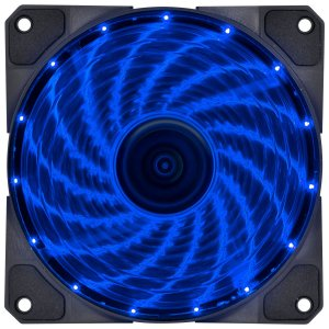 COOLER FAN PARA  GABINETE 120MM VX GAMING V.LUMI LED AZUL VINIK