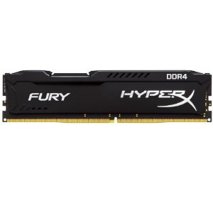 MEMORIA 16GB DDR4 2400 MHZ FURY HYPERX HX424C15FB/16 PRETO KINGSTON