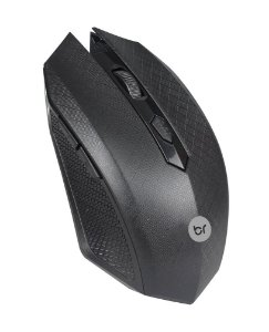 MOUSE WIRELESS 0053 12000 DPI PRETO BRIGHT